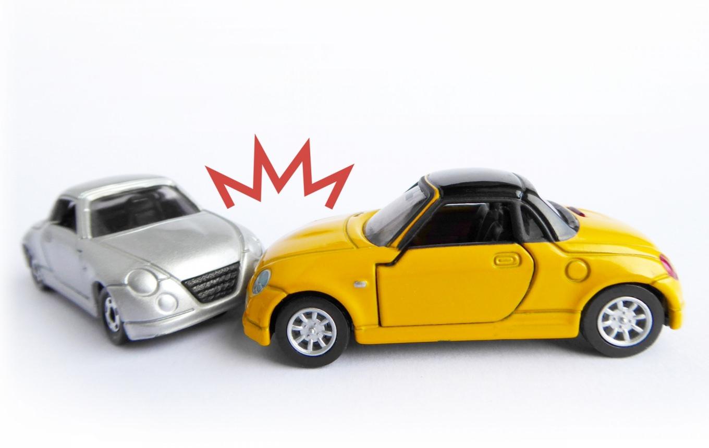 レンタカーの事故
