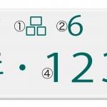 車のナンバープレートの意味とは!? 数字と平仮名は何を指す?