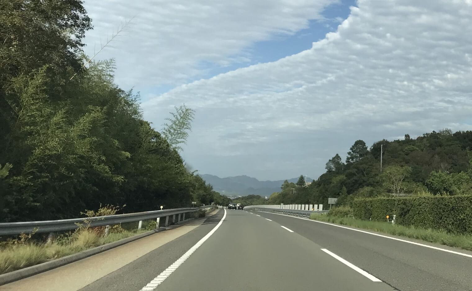 高速道路の路肩