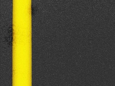 黄色の実線