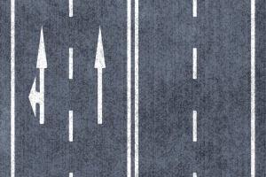 車両通行帯