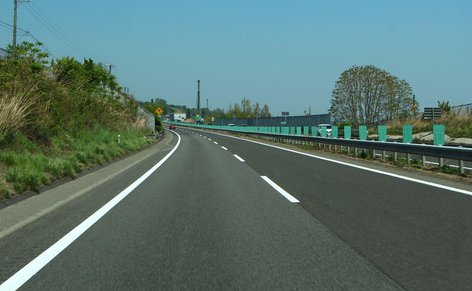 高速道路でガス欠